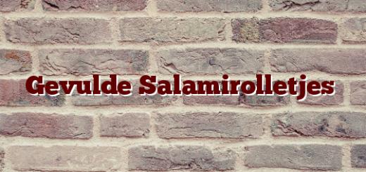 Gevulde Salamirolletjes