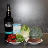 Venkel-broccoli-tonijn-met-amontillado-ingredienten-tapas