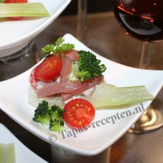 Venkel-broccoli-tonijn-tapas