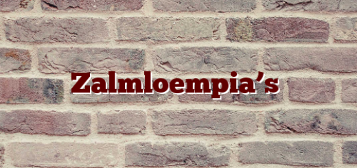 Zalmloempia's